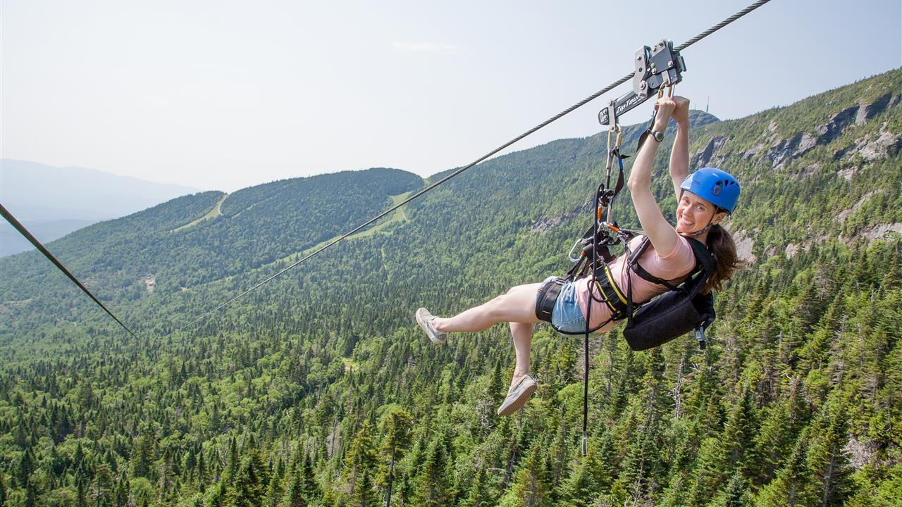 Get the inspiration flowing with an adrenaline-pumping Zipline break.